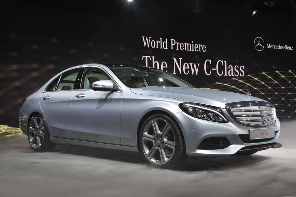 2015 mercedes c class the baby benz grows up. Black Bedroom Furniture Sets. Home Design Ideas