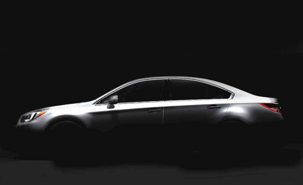Subaru Offers Tease of 2015 Legacy Sedan
