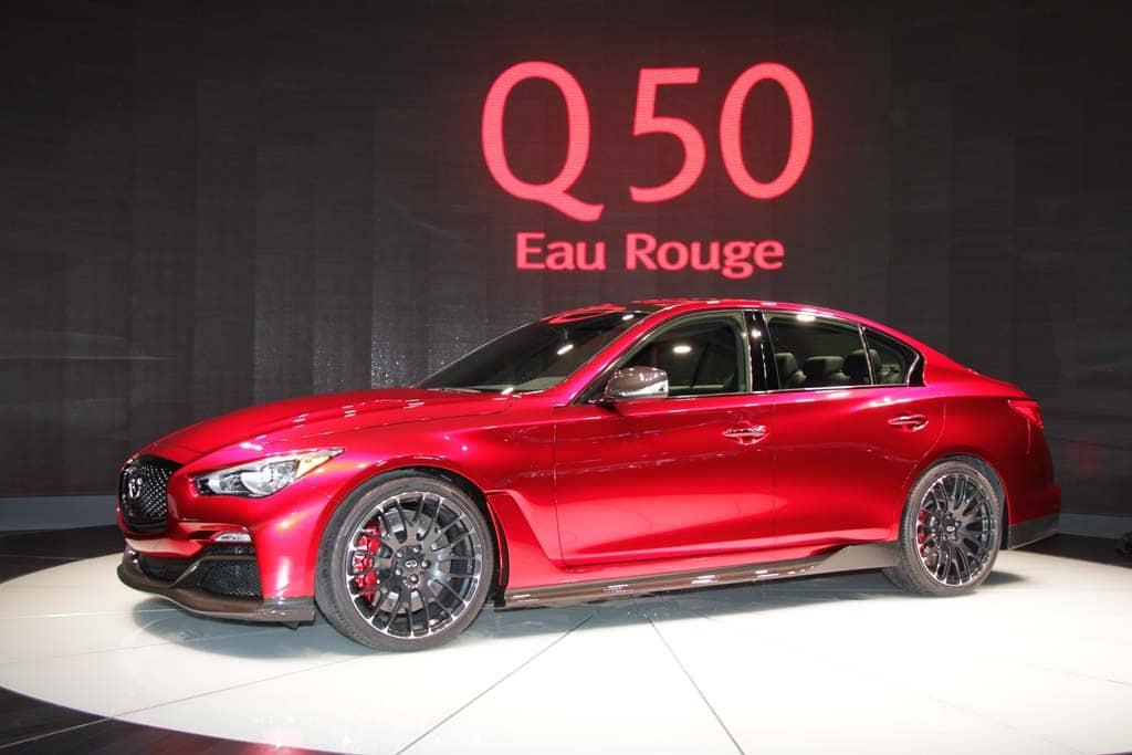 Infiniti Eau Rouge Q50 Concept Other Vehicles Gt R Life