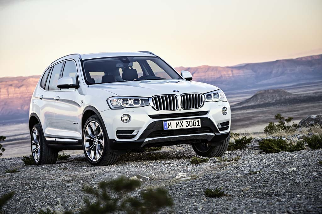 BMW brings the 2015 X3 to Chicago for its debut.