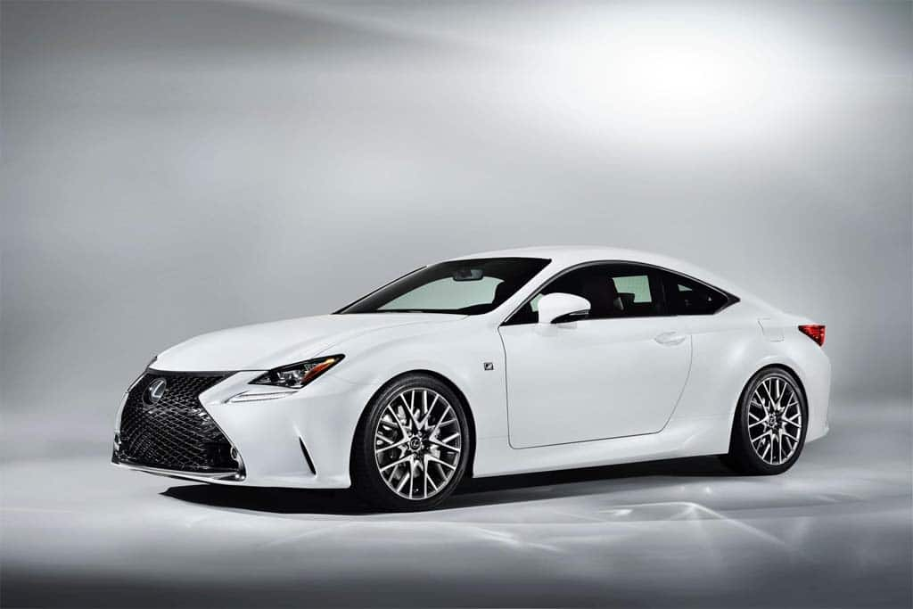 Lexus Rounds Out RC Line with New F Sport