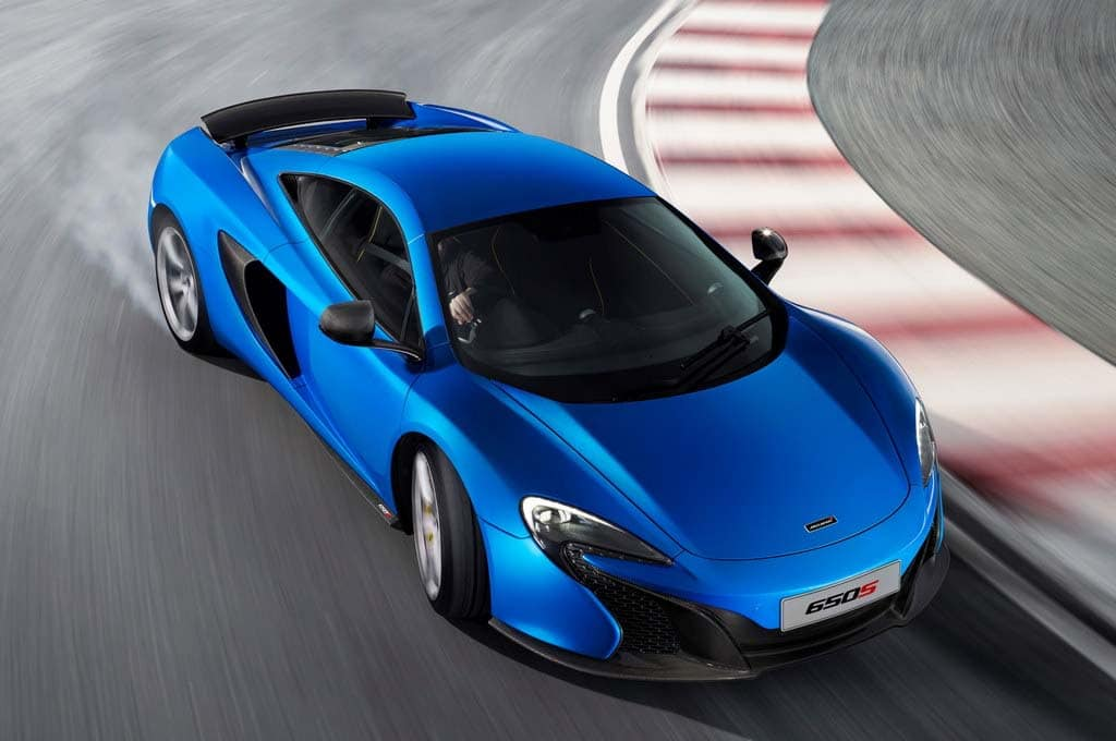 McLaren Releases Performance Numbers for New 650S