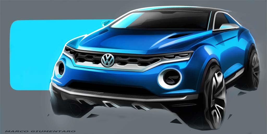 VW Rocks Out with T-Roc Concept