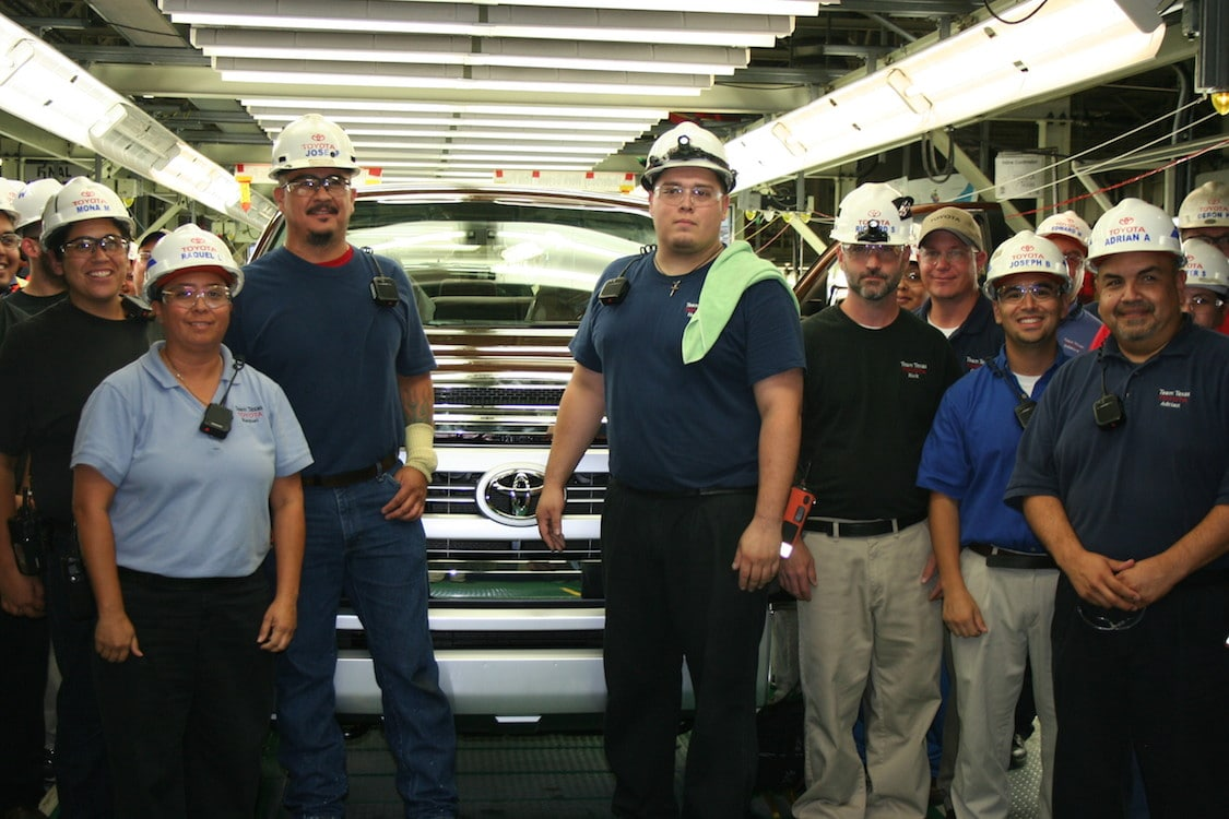 Toyota Workers Get First Pay Increase Since 2008 2013