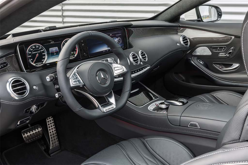 first look 2015 mercedes benz s63 amg 4matic coupe