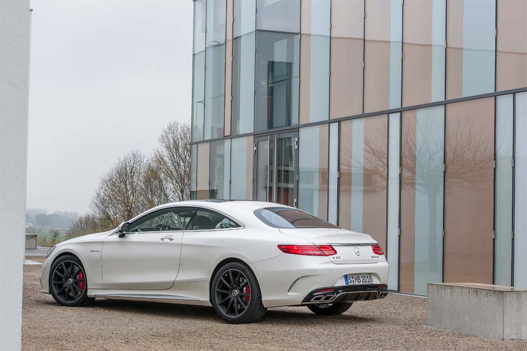 First Look: 2015 Mercedes-Benz S63 AMG 4Matic Coupe | TheDetroitBureau