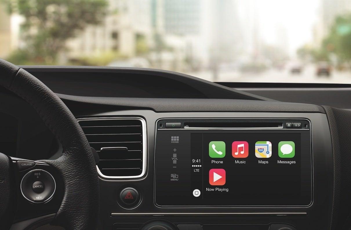 apple play in car