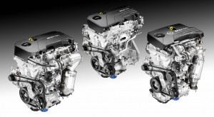The new Ecotec small engine portfolio will include 11 engines,with three- and four-cylinder variants ranging from 1.0 liters to 1.5 liters.