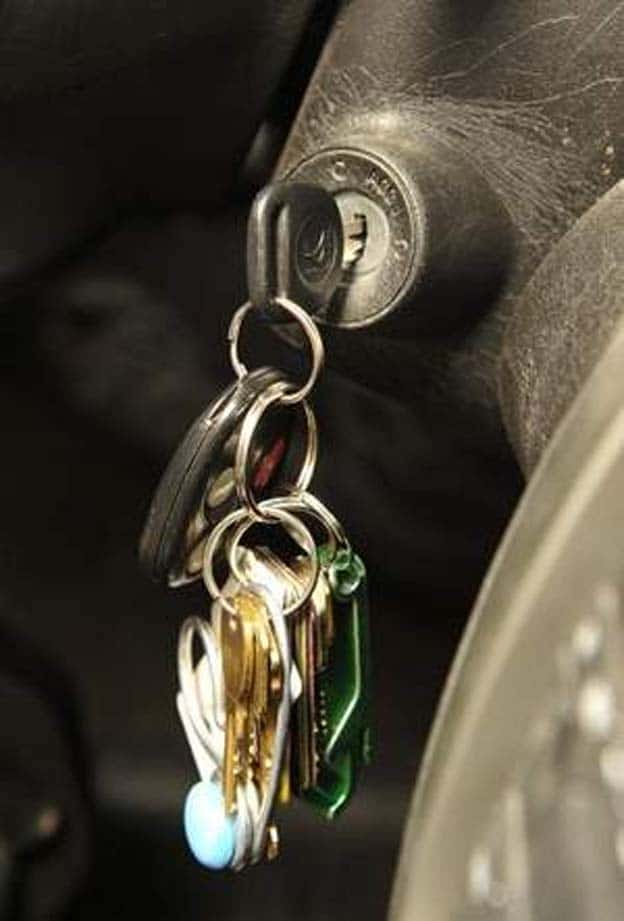 Motorists Make it Easy for Thieves by Leaving Keys in Cars