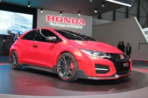 honda civic type r concept a racing car for the road. Black Bedroom Furniture Sets. Home Design Ideas