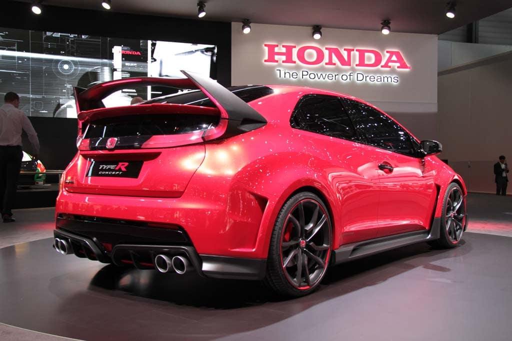 Honda Civic Type R Concept A Racing Car For The Road Honda Civic