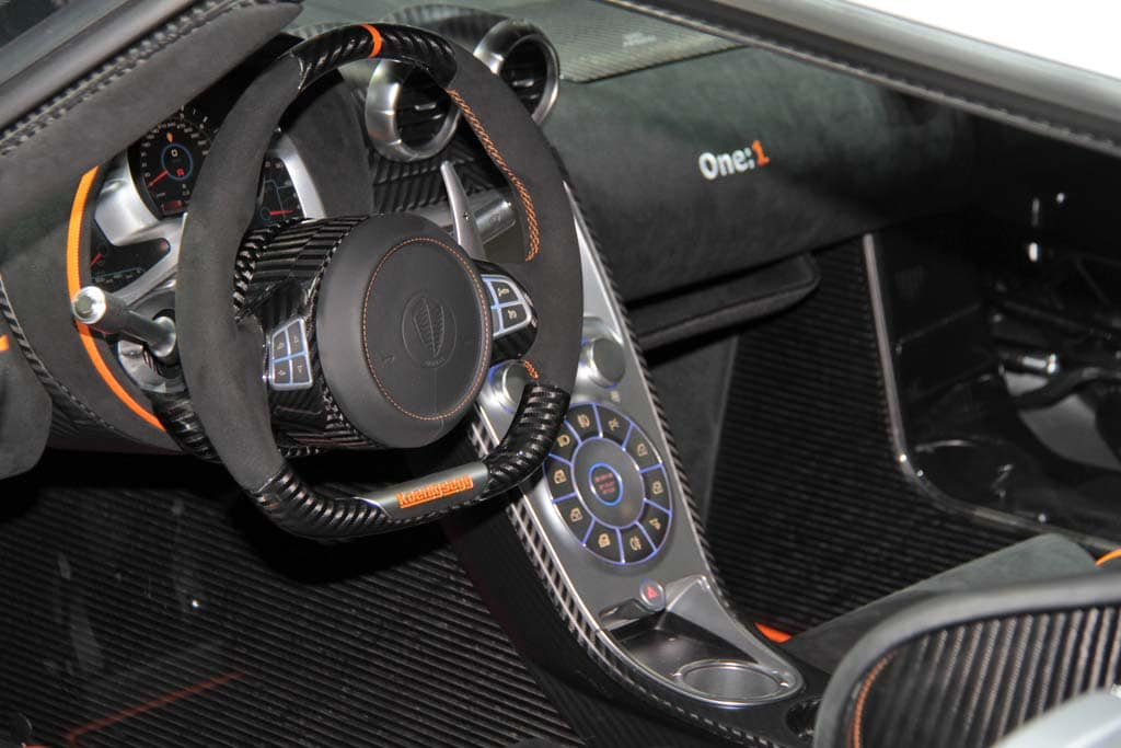 Koenigsegg One Interior >> Koenigsegg Agera One 1 Smashes Through 1300 Hp Barrier Koenigsegg
