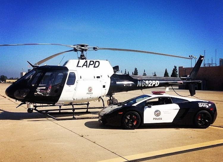 Ford Police Interceptor Cuffs The Top Spot Lapd Lambo