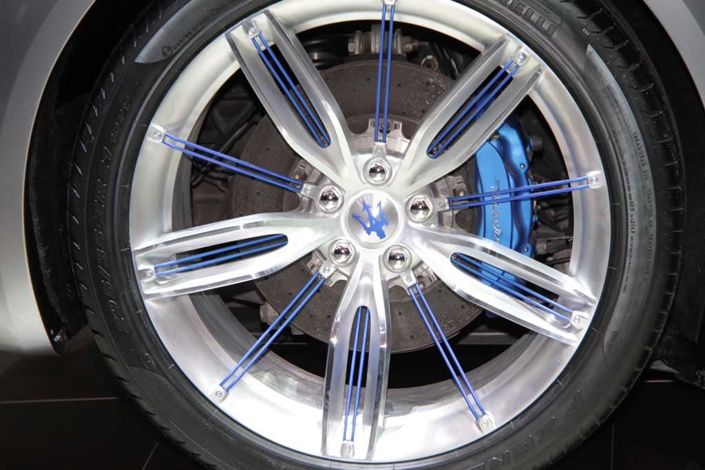 Maserati Alfieri Concept Wheel Close Up Maserati Alfieri