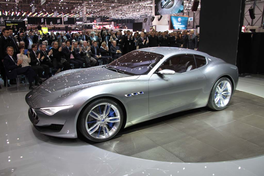 maserati hints at future with 2 2 alfieri concept. Black Bedroom Furniture Sets. Home Design Ideas