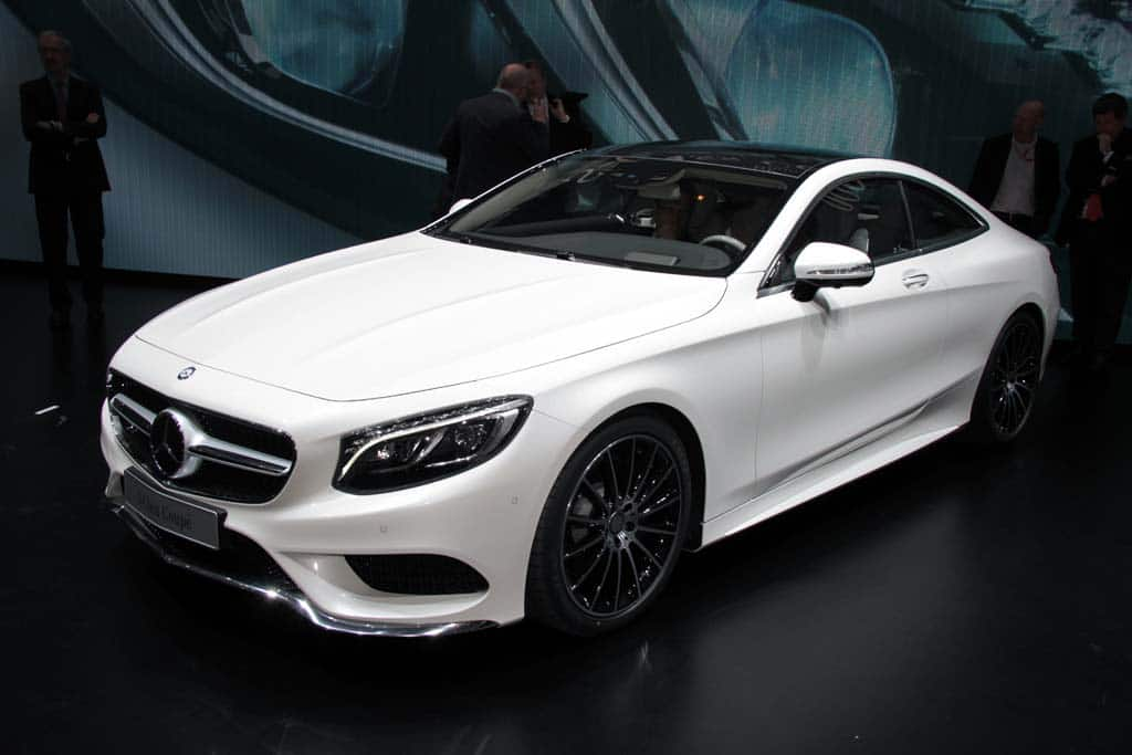 The New 2015 Mercedes S550 Coupe Premiered At The Geneva Motor Show  Features All Of The