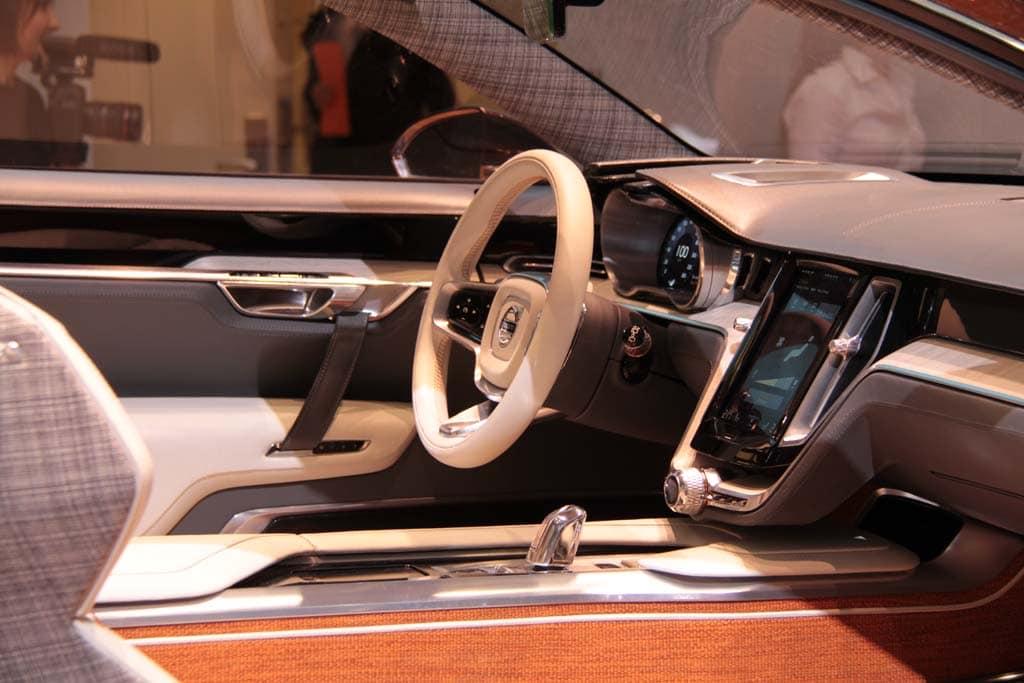 Volvo Concept Estate Interior Volvo Concept Estate Interior