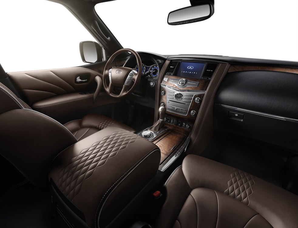 The Infiniti QX80 Limited Features A Variety Of Comfort And Convenience  Features For The Seven Passengers