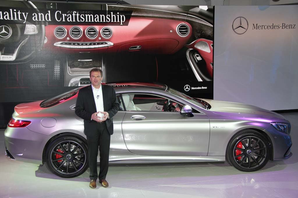 First Look 2015 MercedesBenz S63 AMG 4Matic Coupe