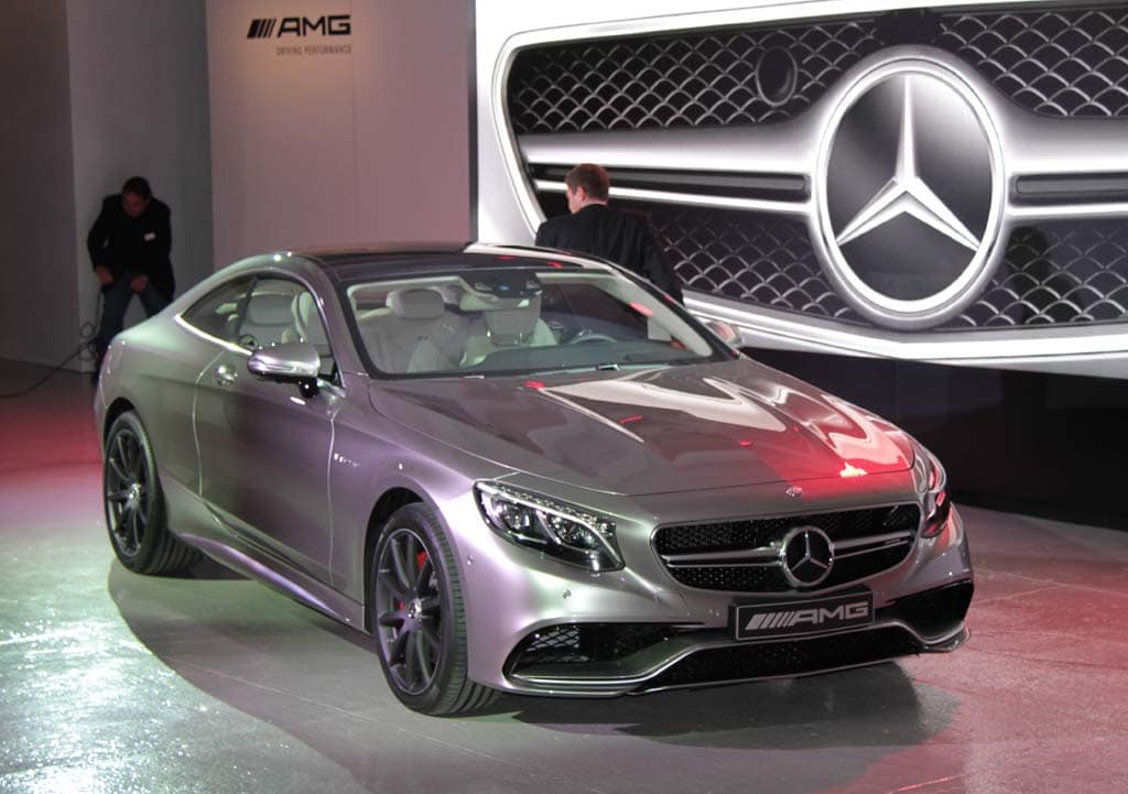 2015 Mercedes-Benz S63 AMG 4Matic Coupe Expected This Fall