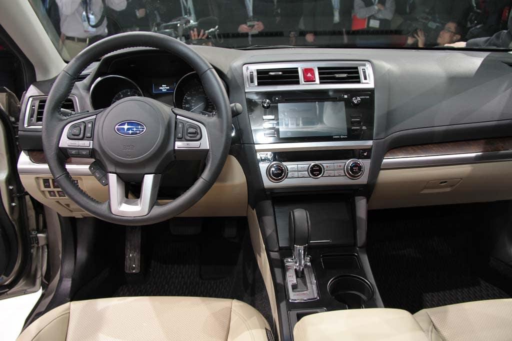 First Look 2015 Subaru Outback 2015 Subaru Outback interior