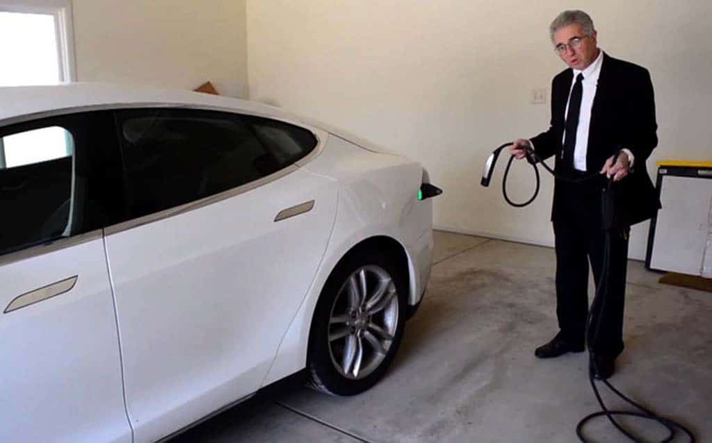 Attorney Vince Megna With The Tesla