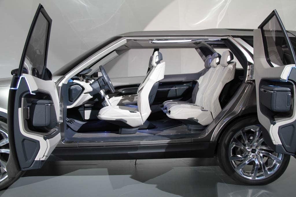Land Rover Discovery Vision Concept Interior Land Rover