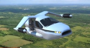 The Terrafugia TF-X would travel 500 miles using a plug-in hybrid power train. However, it's not likely to be ready for another decade.