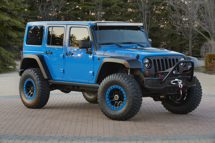 Jeep invading easter safari in utah with modded 4x4s jeep wrangler with a light bar filled with leds the maximum performance is ready to deliver day aloadofball Image collections