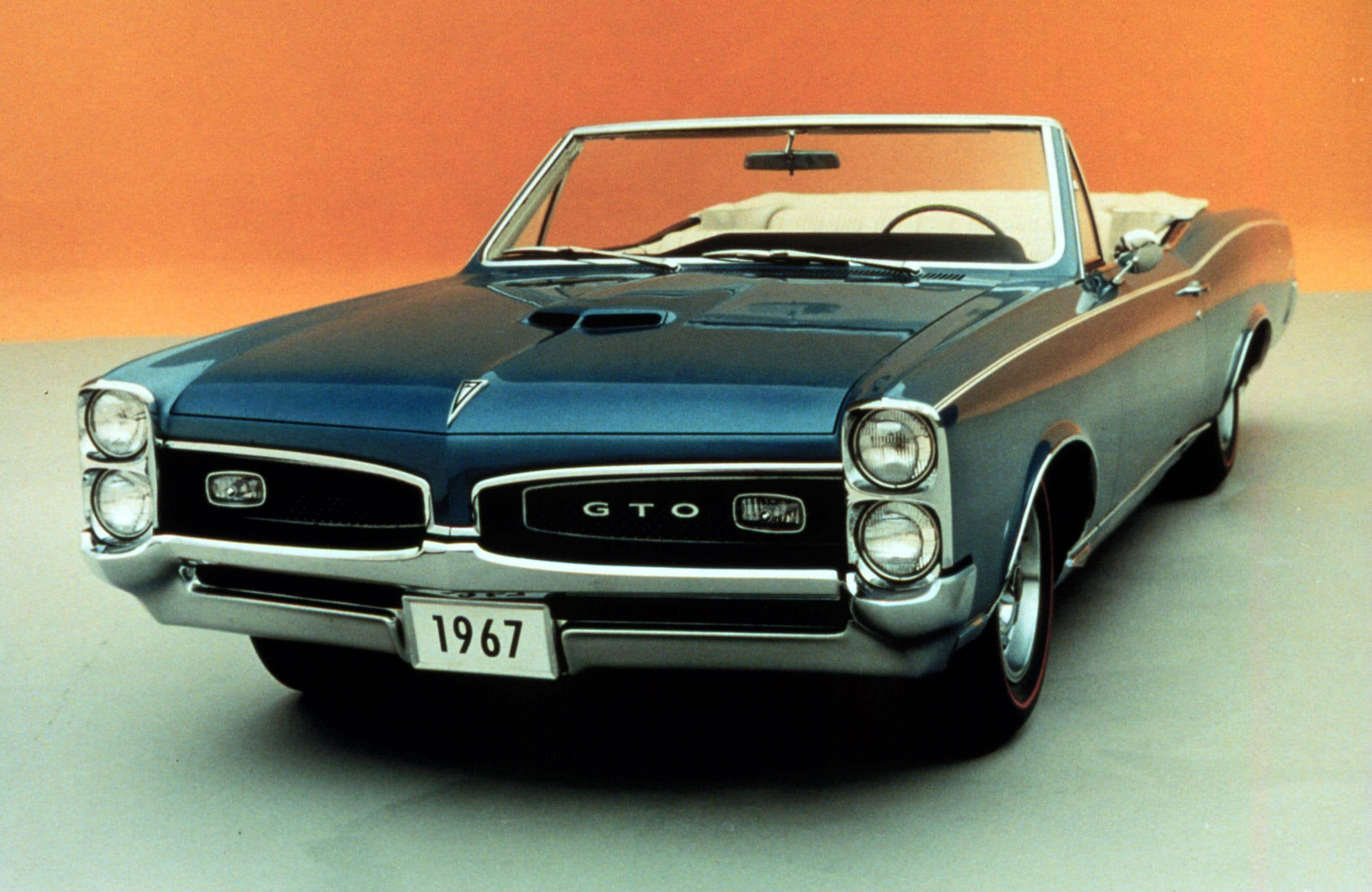 The Birth of the Muscle Car: the Pontiac GTOs 50th Anniversary ...
