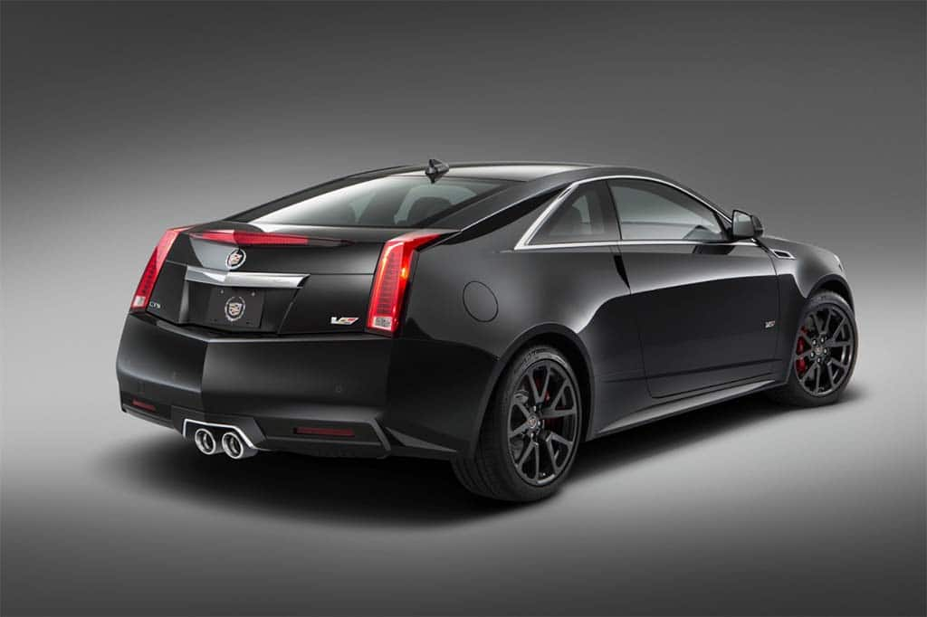 Cadillac Muscles Up With Limited Edition Cts V Coupe 2015 Cadillac
