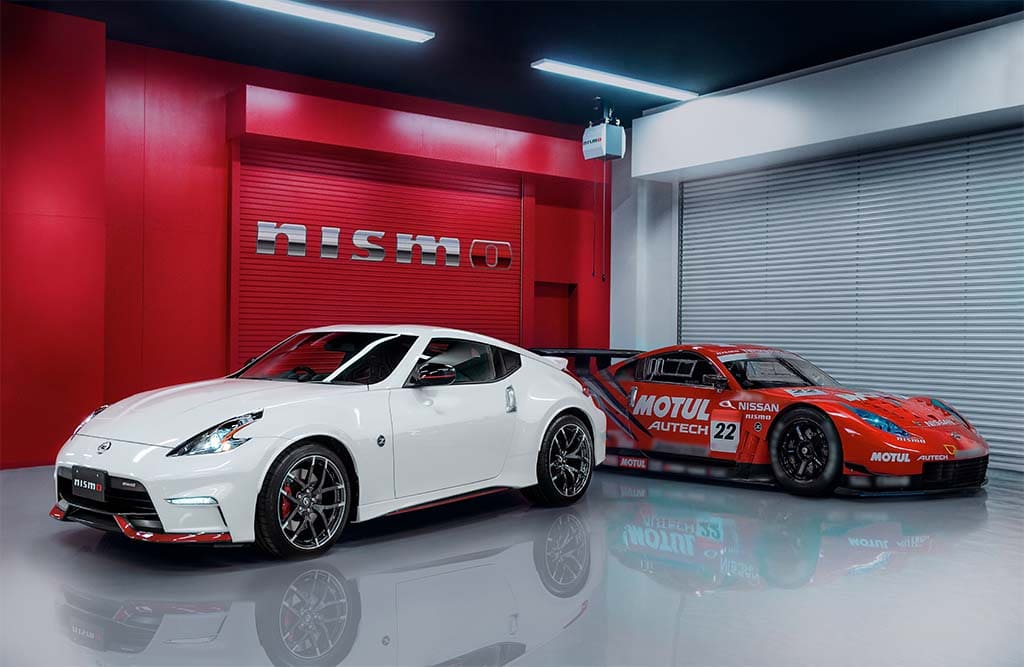 nissan delivers surprise with debut of 2015 370z nismo. Black Bedroom Furniture Sets. Home Design Ideas