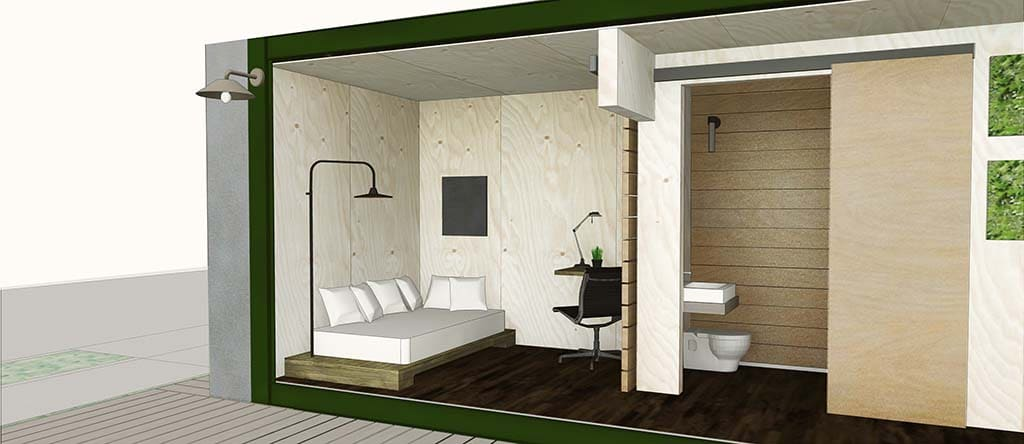 GM Aids Program to Turn Shipping Containers into New Homes ...