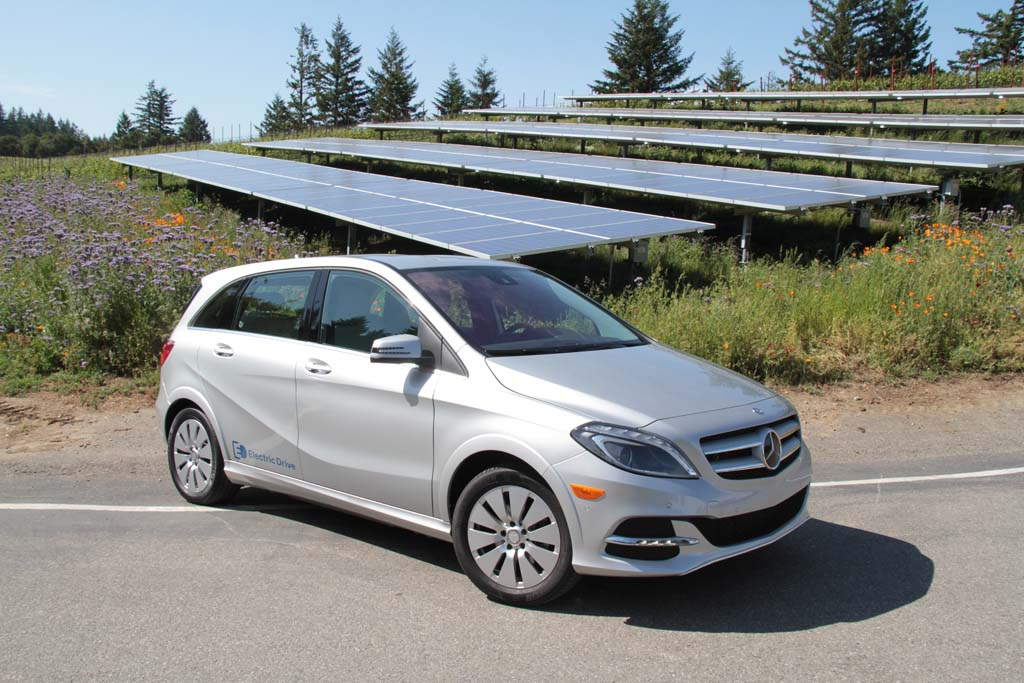 First Drive Mercedes Benz B Cl Electric