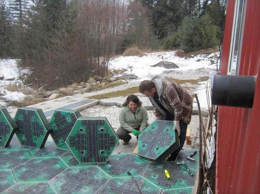 Solar Roadway Project Sets Fundraising Record