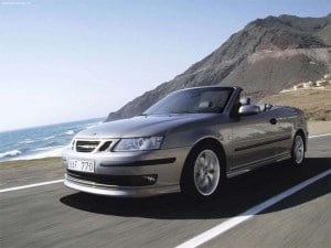 The Saab 9-3 is one of the safest and least expensive vehicles for teen drivers, according to IIHS.