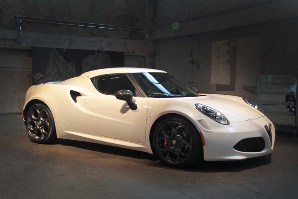 ambitious alfa romeo launches u s comeback 2015 alfa romeo 4c launch edition. Black Bedroom Furniture Sets. Home Design Ideas
