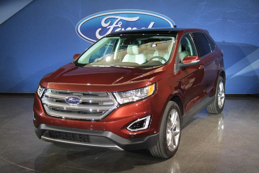 Ford Aims to Edge Out the Competition with All-New 2015 Edge CUV