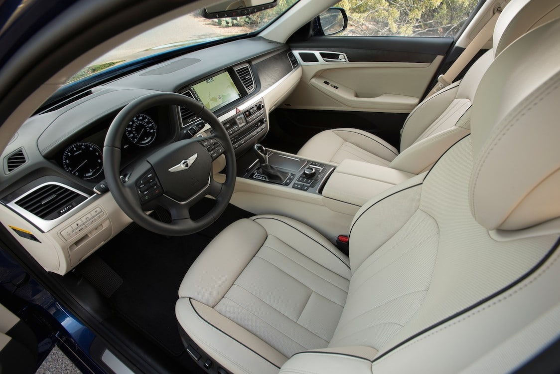 The New Hyundai Genesis Features More Interior Room Than Its Competitors  And Plenty Of Luxury Touches