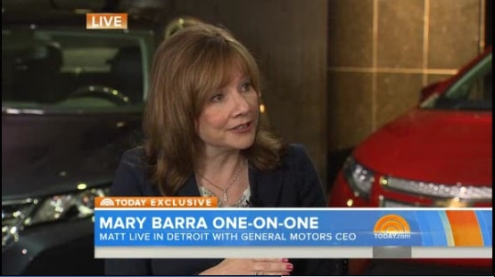 No More Firings in Ignition Switch Scandal, Says GM CEO Barra
