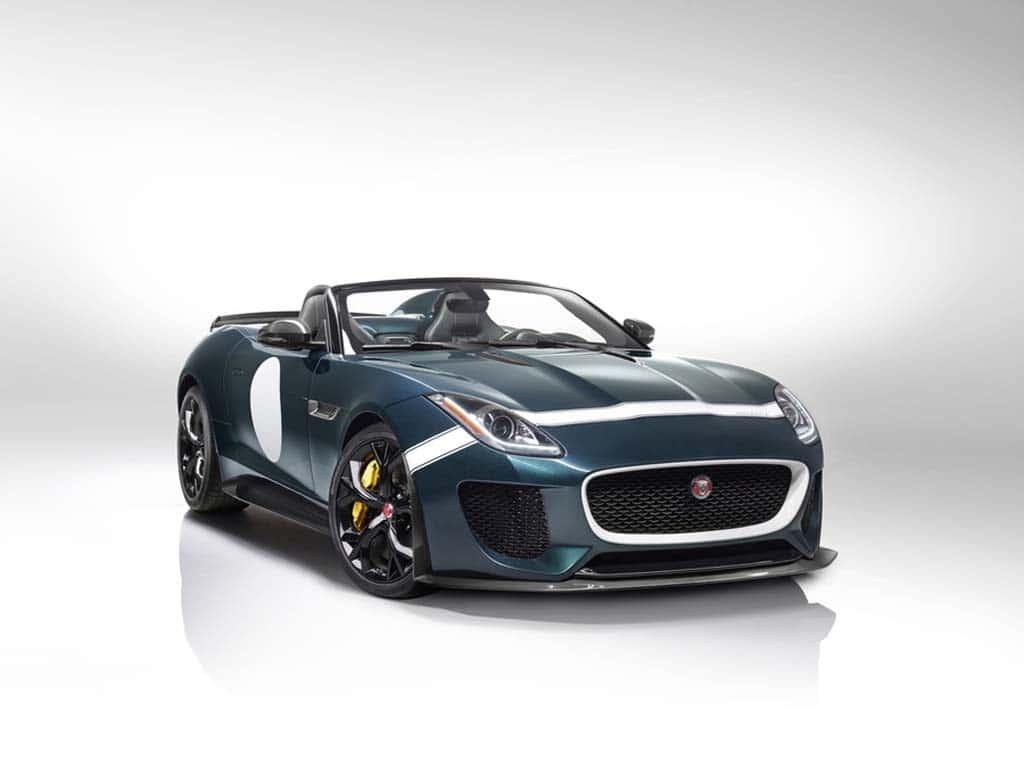 Jaguar Confirms Plans to Build F-Type Project 7