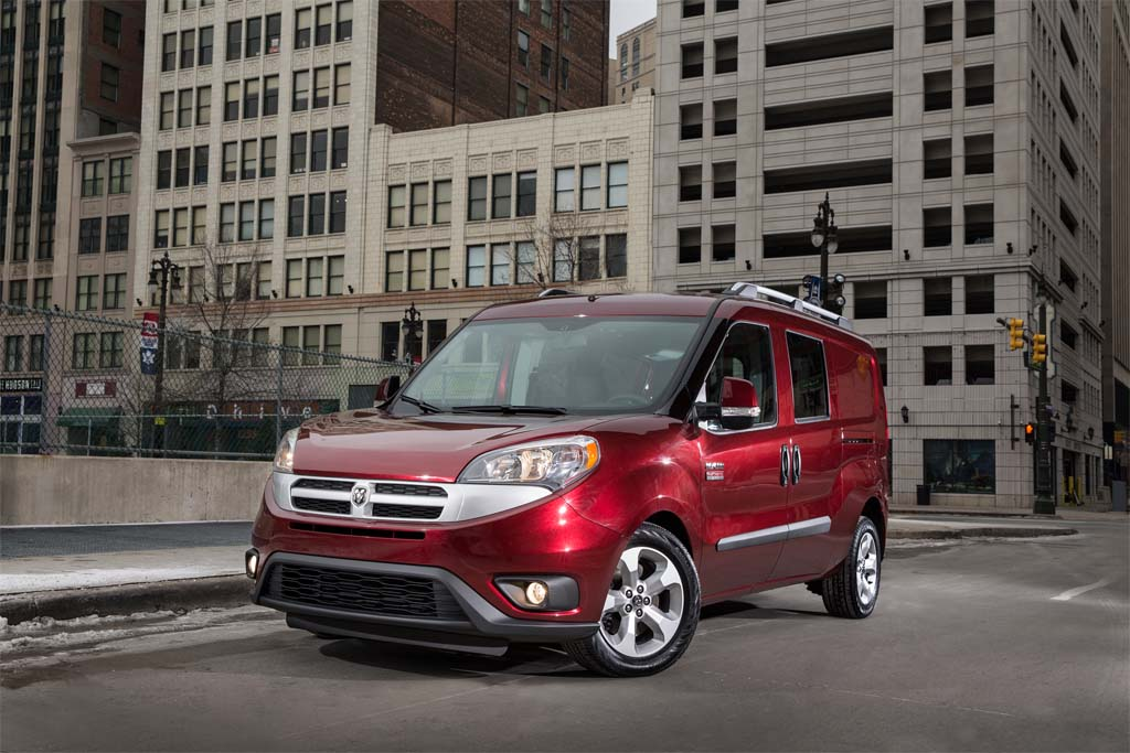 Chrysler Enters Commercial Van Market with 2015 Ram ProMaster City
