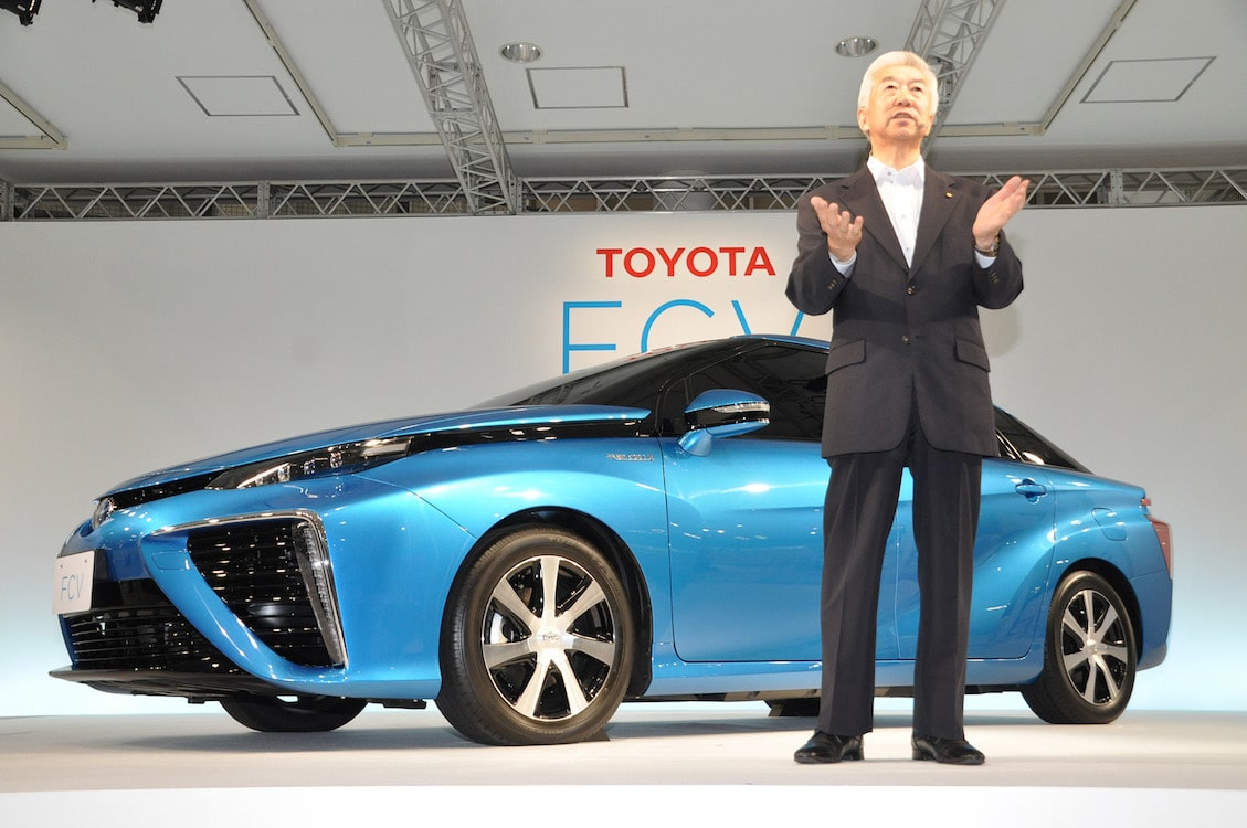 Toyota Selling FCV for $70,000 in Japan