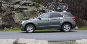 Utility vehicles like the Chevrolet Equinox selling like gangbusters in this era of cheap gas.