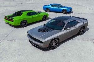 Dodge Challenger trio
