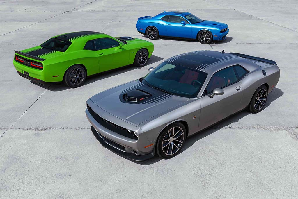 Muscle Car Sales Charging Up in America