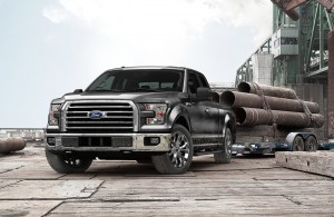 Ford's F-150 tops the list of vehicles sold at a price topping $50,000 this year.