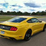 A lower overall profile and an independent rear suspension improve the 2015 Mustang's ability to handle twists and turns.