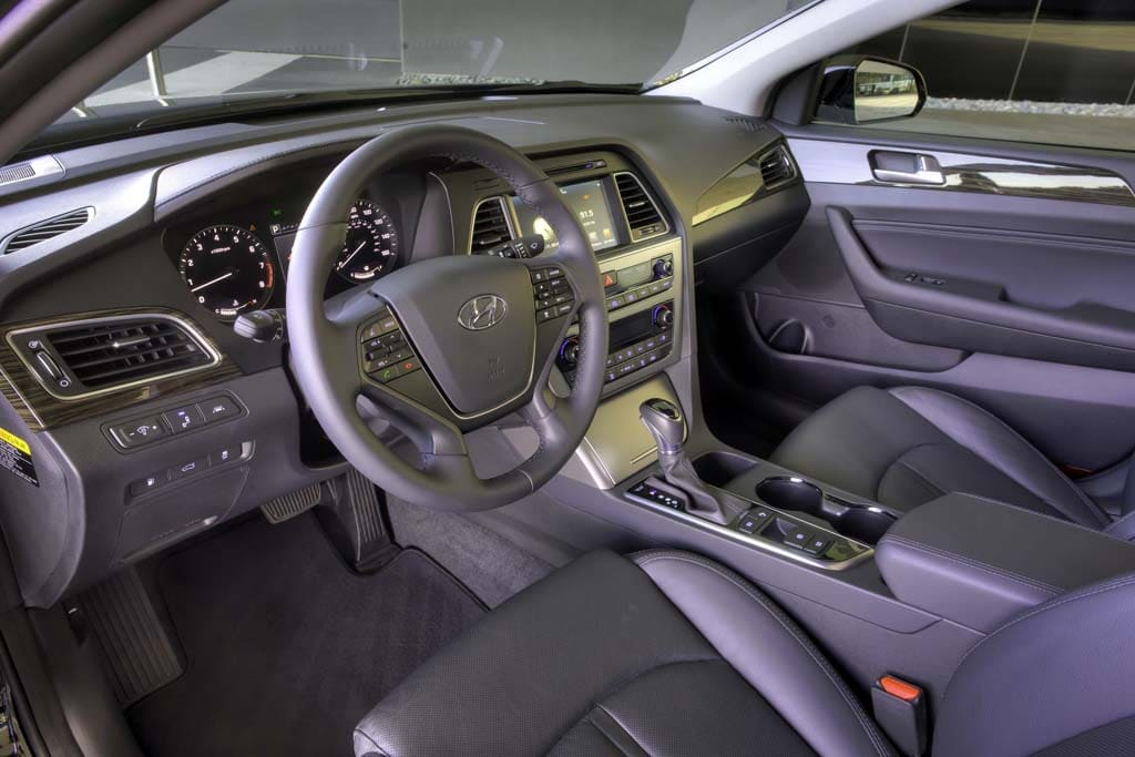 The Interior Of The 2015 Hyundai Sonata Is More Upscale   And Features  Plenty Of Space Design