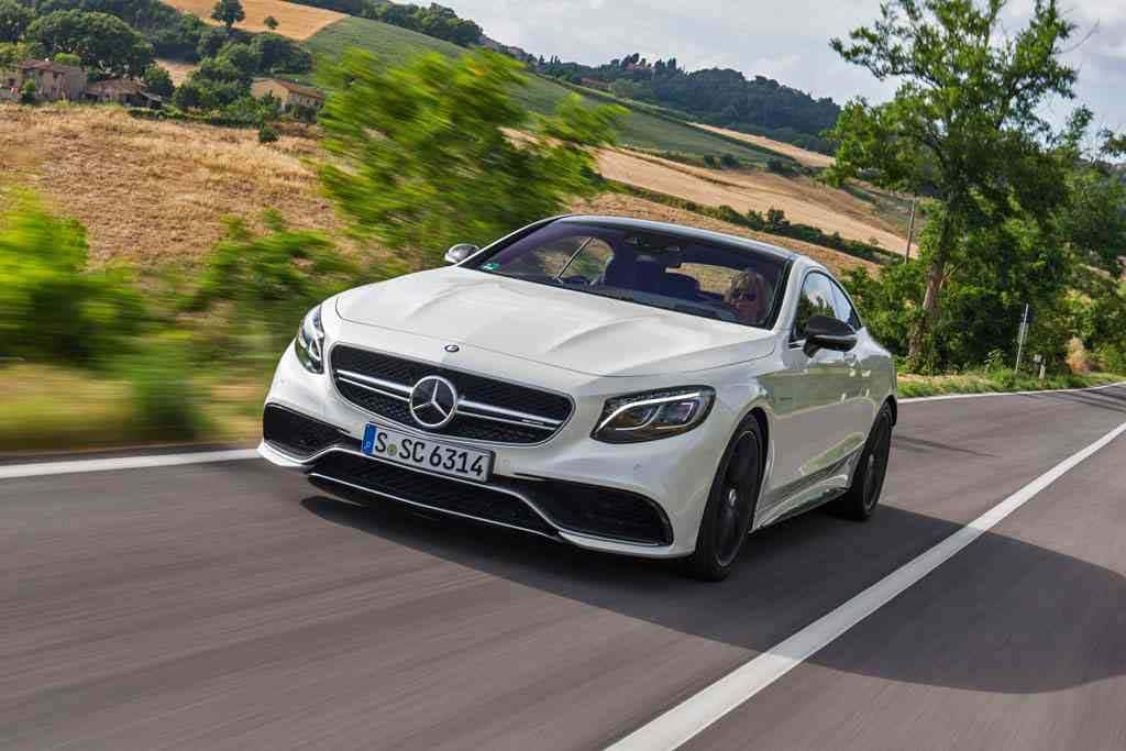 New S-Class Coupe to Maintain Mercedes' High-Tech Push